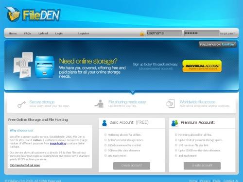 fileden | Web Exciting App
